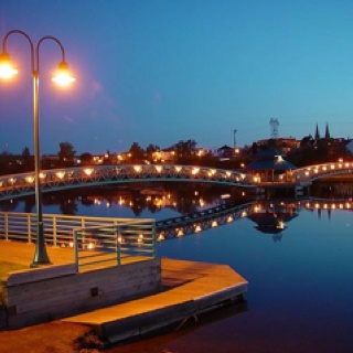 Edmundston, New Brunswick, Canada.