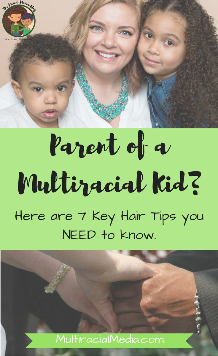 Parent Of A Multiracial Kid? Here Are 7 Key Hair Tips You