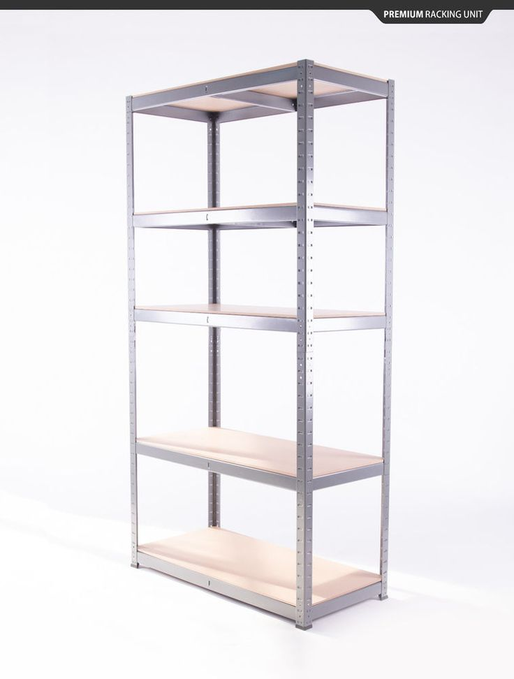 Garage Shelving Unit 5 Tier 180x90x40cm Racking Shelf Storage. This one is a bigger size and good price, 3 should fit my 2 alcoves.