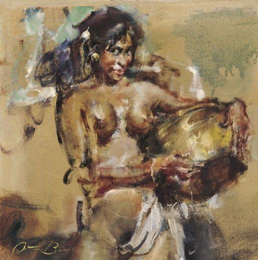 Antonio Blanco - Gadis Bali #3