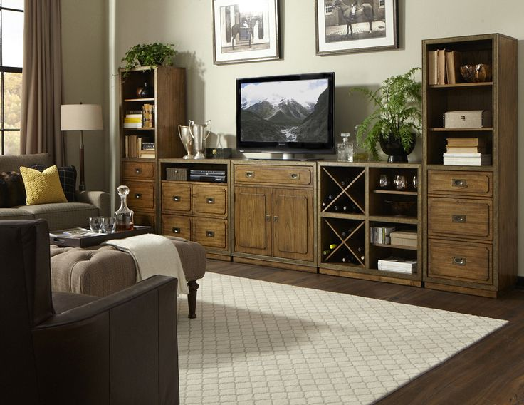 Falls Creek Storage Wall with Piers   Riverside   Home Gallery Stores. 1000  images about Entertainment Centers We Love on Pinterest
