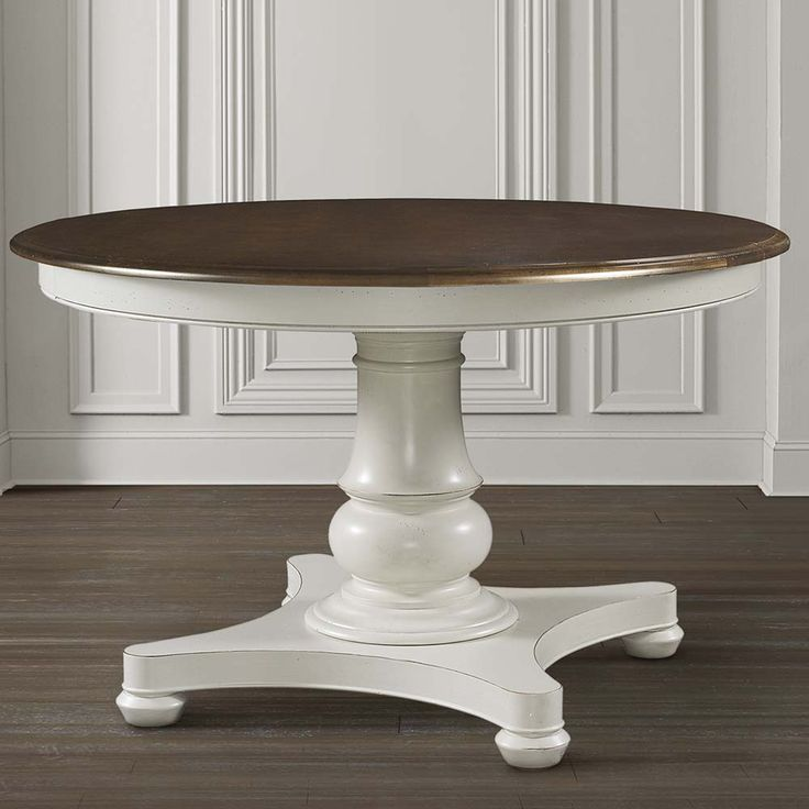 Best 25 Round Pedestal Tables Ideas On Pinterest Round Tables Farmhouse Round Dining Table