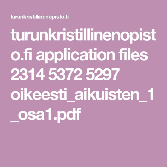 turunkristillinenopisto.fi application files 2314 5372 5297 oikeesti_aikuisten_1_osa1.pdf