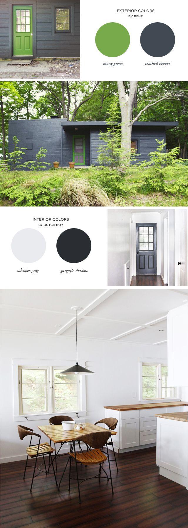 The 25 Best Behr Exterior Paint Colors Ideas On Pinterest Gray Paint Colors Grey Interior