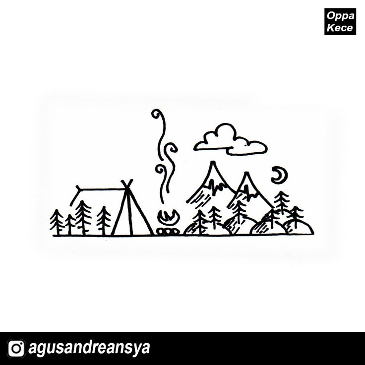 #drawing #art #watercolor #waterproof #painting #doodle #design #camping #campvibes #keepcapped #snowman #oppakece