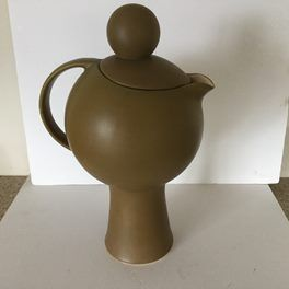 """Dorothy Thorpe """"Palm Springs"""" BALL HANDLED COFFEE POT  Sold for $1000.00 June 2017"""
