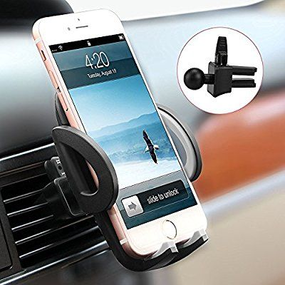 Car Mount, Avolare Car Air Vent Phone Holder, Universal Upgraded Version Car Phone Cradle, Adjustable High Quality Phone Holder for Hands Free Driving, Compatible with iPhone SE 7 7 Plus 6s 6 Plus 5s 5 4s 4,Samsung Galaxy S7 S6 S5 Note5,LG Nexus SNOY HTC Motorola and More