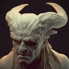 Image result for homunculus creature sculpture