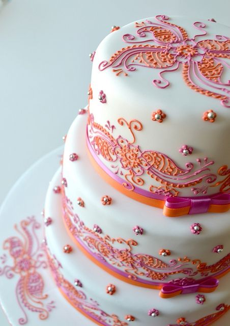 Henna Wedding cake | Flickr - Photo Sharing!