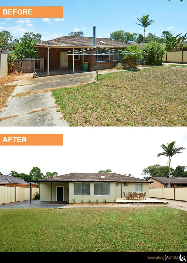 #Backyard #Renovation See more exciting projects at: www.renovatingforprofit.com.au