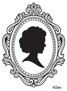 Cameo image - vector clip art online, royalty free & public domain