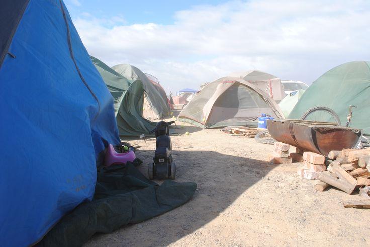 Lots of tents at Afrikaburn