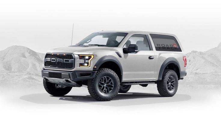 2018 Ford Bronco – production by 2020