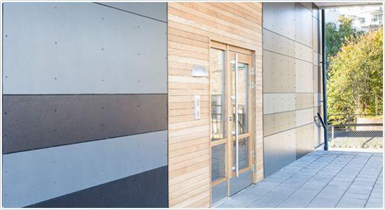 URBANNATURE, Cembrit Zenit płyty elewacyjne na fasady