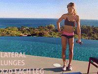 Bądź Fit → dieta → trening → fitness → zdrowe odżywianie : Kształtne, jędrne pośladki - ćwiczenia
