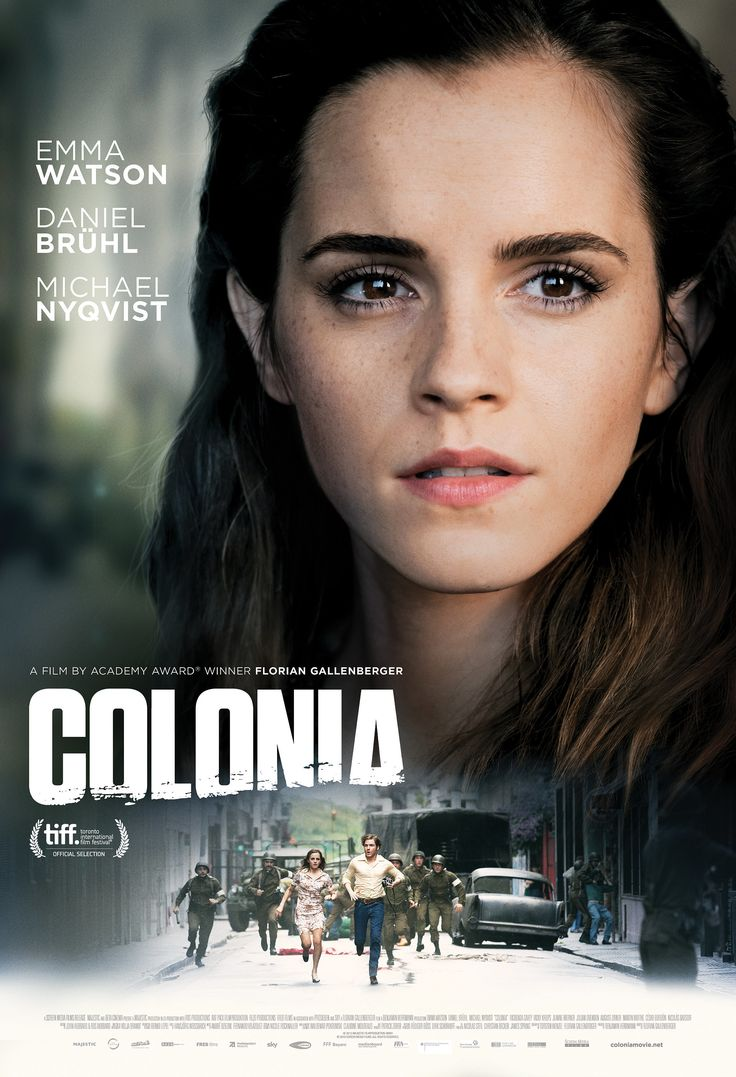 Colonia Poster With Emma Watson