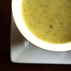 Supă de dovlecei cu parmezan (de la 1 an)