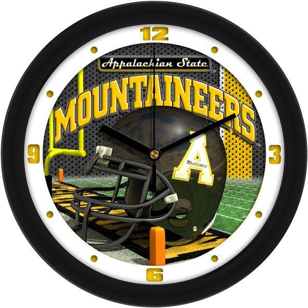 NCAA Appalachian State Mountaineers-Football Helmet Wall Clock
