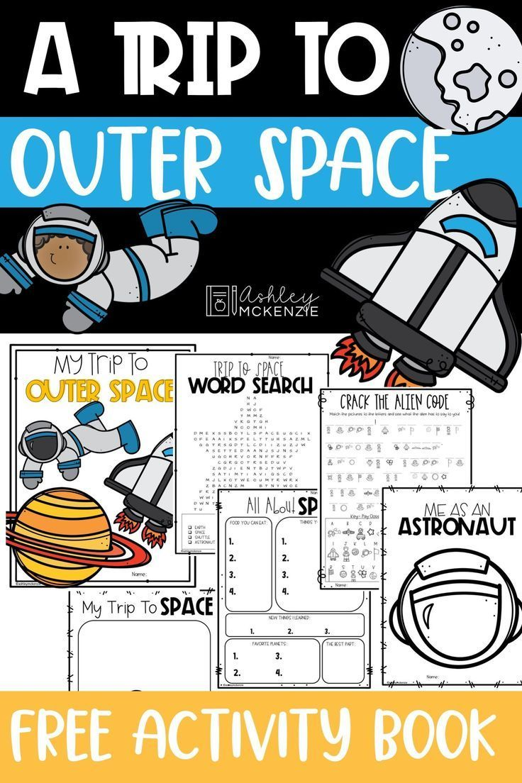 Free Solar System Activity Book Engage Your Students With Worksheets On Space And The S Solar System Activities Space Activities For Kids Solar System Lessons