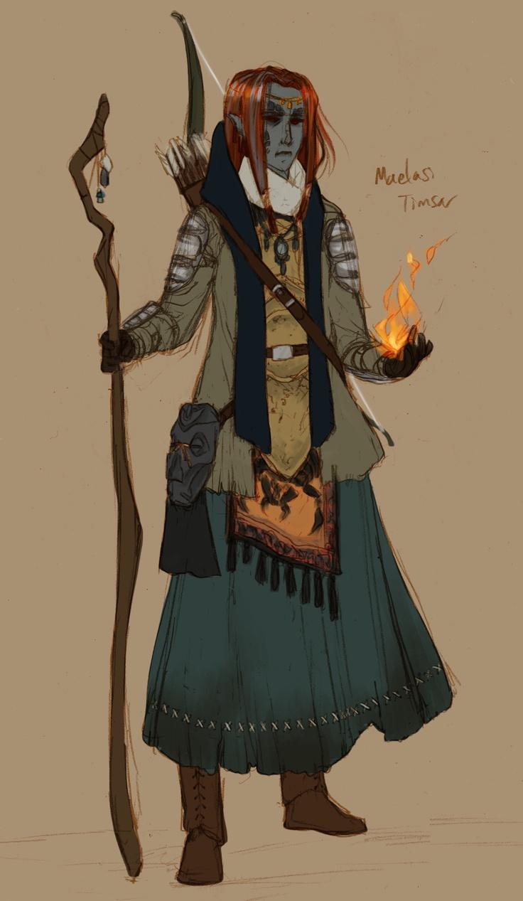 Skyrim Character Design Ideas : Dunmer mage the elderscrolls pinterest skyrim