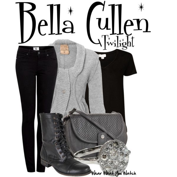 Twilight by wearwhatyouwatch on Polyvore featuring Witchery, Paige Denim, Steve  Madden, Roxy,