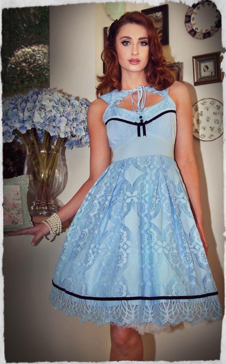 Forget Me Not Peekaboo Dress