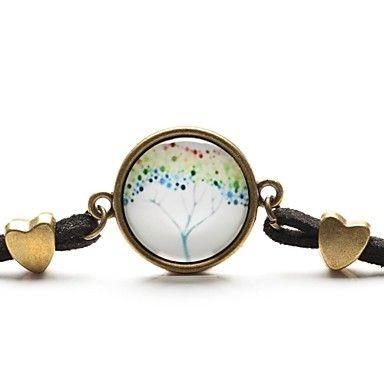 time juweel vrede leven boom hanger ketting kunst boom glas cabochon armband (1 stuk) – EUR € 1.76