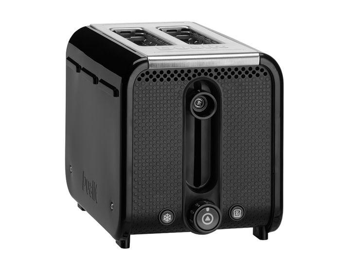 Black/Brushed Trim Studio by Dualit™ 2 Slot Toaster