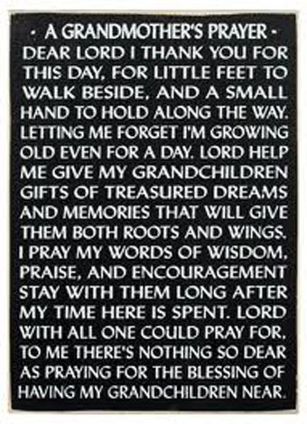 Prayers for Grandmothers - Prayers for Special Help