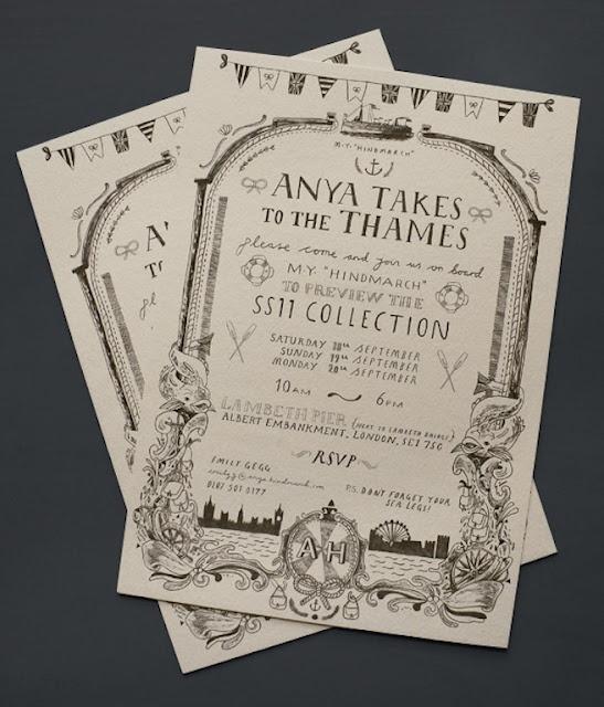 hand-drawn illustrated invitation