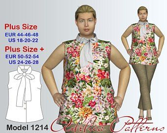 7e448c82c8c Plus size sewing patterns for women