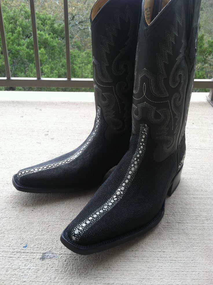 Botas vaqueras mantarraya renia.. Handcrafted boots in ...