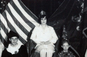 Mary Ida (Brandt) Amspacher, was Chambersburg's first Color Day Queen.: Mary Ida, Queen, Cashs Color