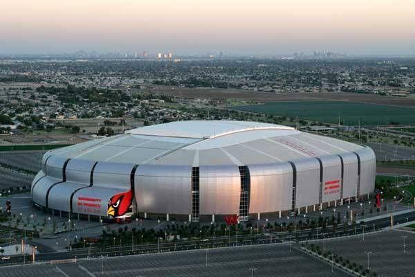 Estadio de la Universidad de  Phoenix, Arizona. Casa de los Arizona Cardinals
