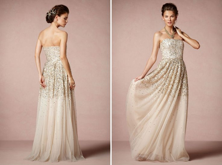 25 Non-Traditional Wedding Dresses for the Modern Bride via Brit + Co.