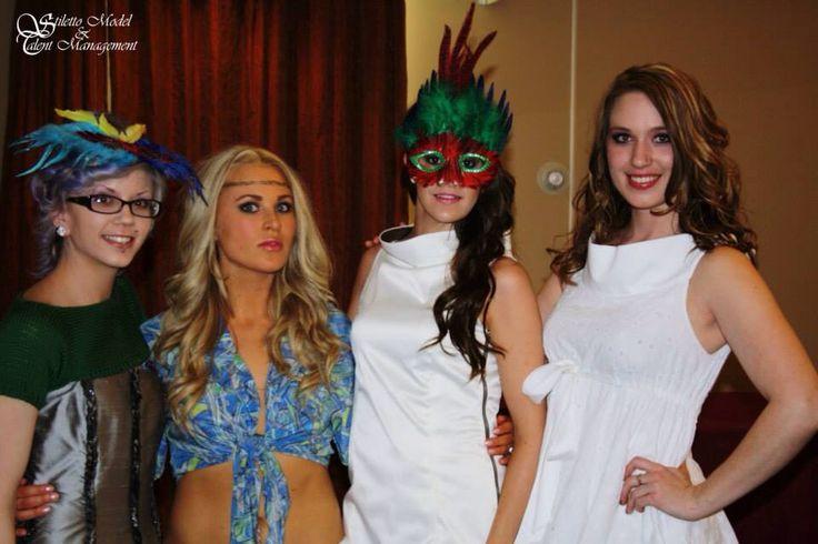 "SMTM Models ""Emily, Kimber, Ashley & Jenny"" @ the Escape to Rio Fashion Show 2012"