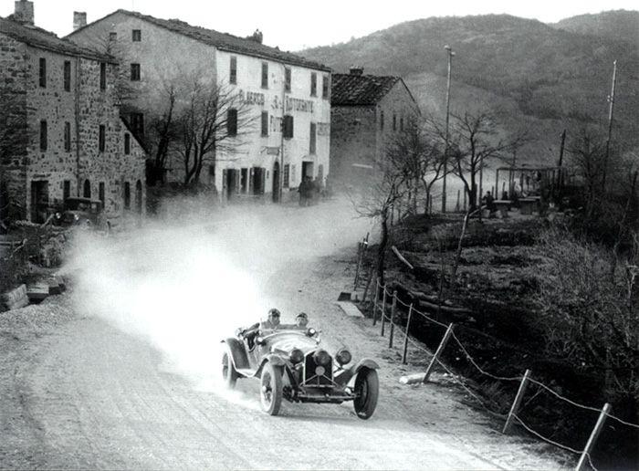 Mille Miglia 1931 - Alfa Romeo 8c 2300