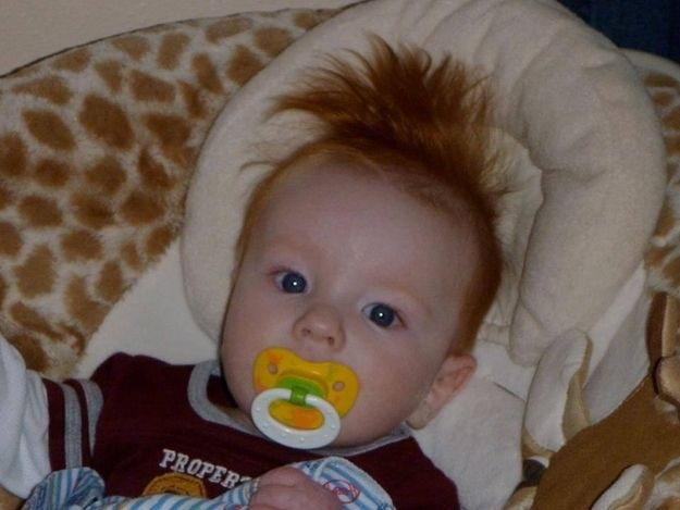 17 Babies Having A Bad Hair Day - BuzzFeed Mobile