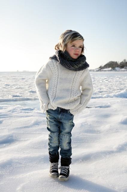 Vilmer på isen by I dig Denim, via Flickr
