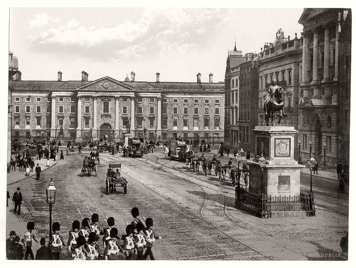 Historic B&W photos of Dublin, Ireland in 19th Century   MONOVISIONS