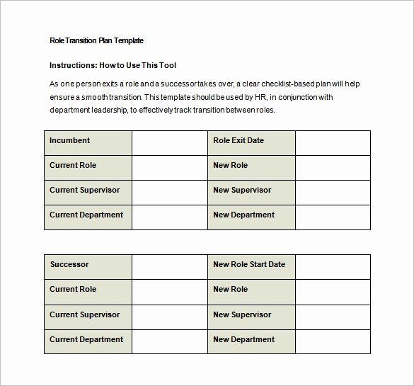 25 Job Transition Plan Template In 2020 Teaching Lesson Plans