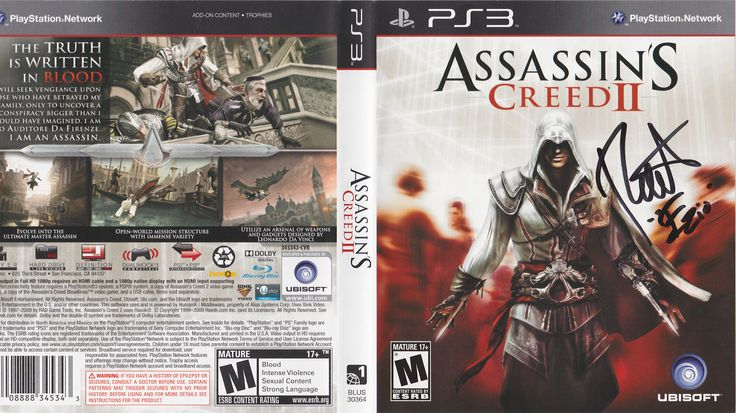 Roger Craig Smith as Ezio Auditore da Firenze in Assassins Creed 2