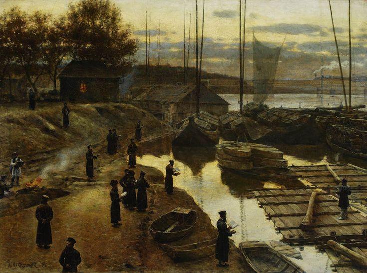 Aleksander Gierymski - Święto Trąbek I, 1884