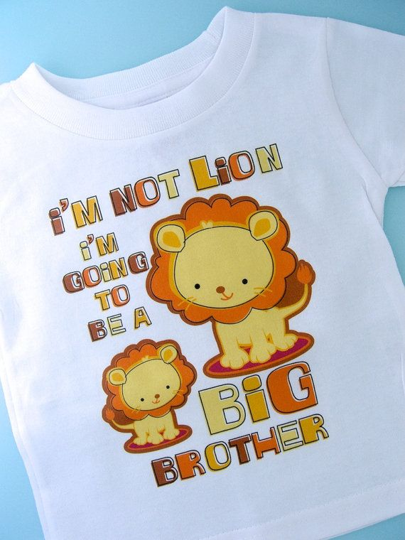 Hey, I found this really awesome Etsy listing at https://www.etsy.com/listing/86201299/im-not-lion-big-brother-shirt-im-going