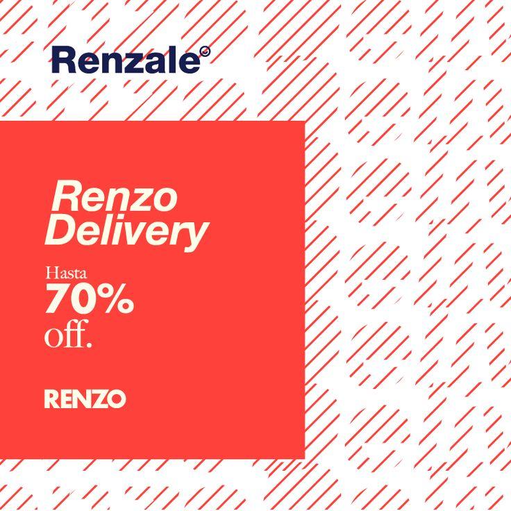 Disfrutá de #RenzoRainero sin salir de casa ⭐  Aprovechá los descuentos de #Renzale #FW16 en #Zapatos para #Mujer, #Camperas y #Carteras con #RenzoDelivery.