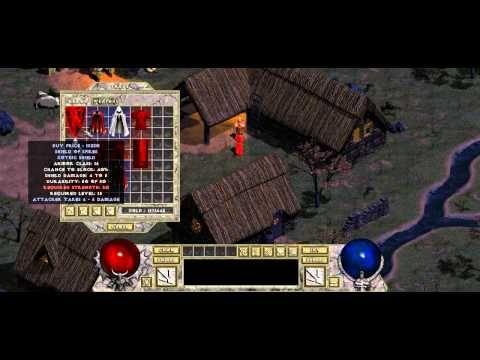 Diablo 1 HD MOD - Belzebub closed beta - YouTube