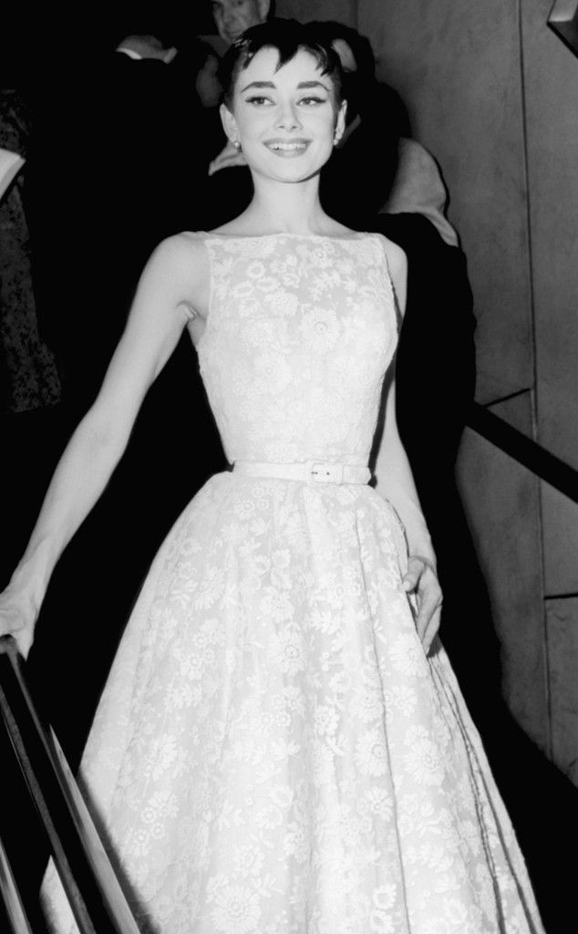 Audrey Hepburn from 50 Years of Oscar Dresses: Best Actress Winners From 1954 - 2014 | E! Online