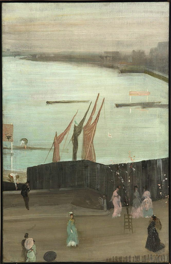 Variations in Pink and Gray: Chelsey, 1871-72 James Abbott McNeill Whistler