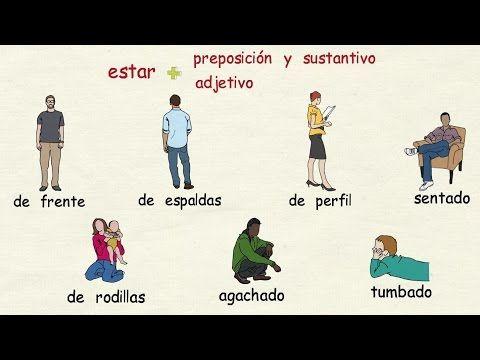 Posturas corporales - Tu escuela de español