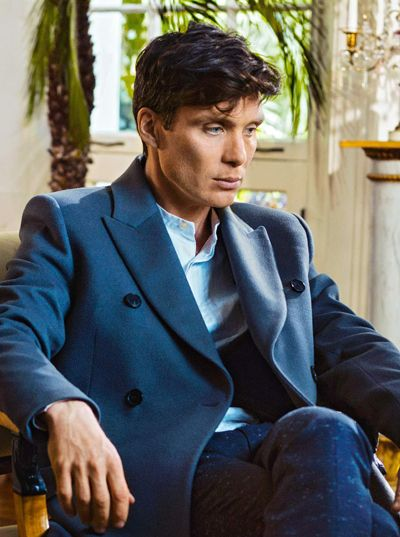 Razor sharp! Peaky Blinders chief Cillian Murphy cuts a dash in this season's finest coats. Photographed by Tomo Brejc for Esquire UK, June 2016